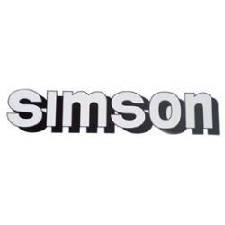 Klebefolie Simson-Tank,...