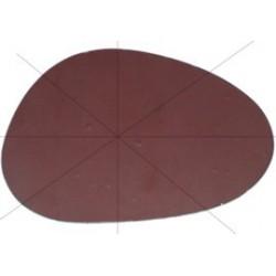 Spiegelglas Nierenform (rund)