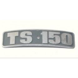TS 150 Typschild - Plakette