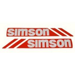 Klebefolie Simson - Tank S53