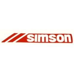 Klebefolie Simson - Tank...