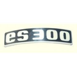 ES 300 Typabzeichen Plakette