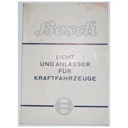 Bosch Licht und Anlasser...