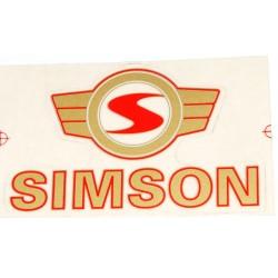 Klebefolie Simson - Emblem