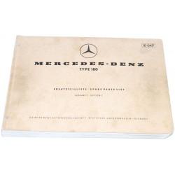 Ersatzteileliste Mercedes...