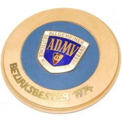 ADMV Plakette klein mit...