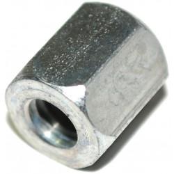 Sechskantmutter für Stehbolzen M6, Schlüsselweite 10, verzinkt - Höhe: 10 mm