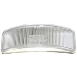 Kennzeichenglas, Kunststoff, klar - mit Entwässerungsbohrung für Rücklicht BSKL 8522