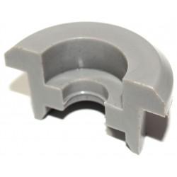 Stützringhälfte klein - grauer Kunststoff - Halbschale für Stoßdämpfer - Mokick/Roller