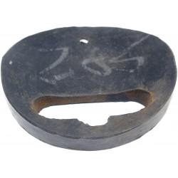 Gummiformstück für Rücklicht/ Rücklichtunterlage / Rücklichtgummi, gewölbt, ES 175/2, 250/2.