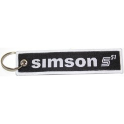 Stoff-Schlüsselanhänger -...